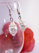 Dainty Pearl Bridal Earrings, Wedding, Bridesmaids