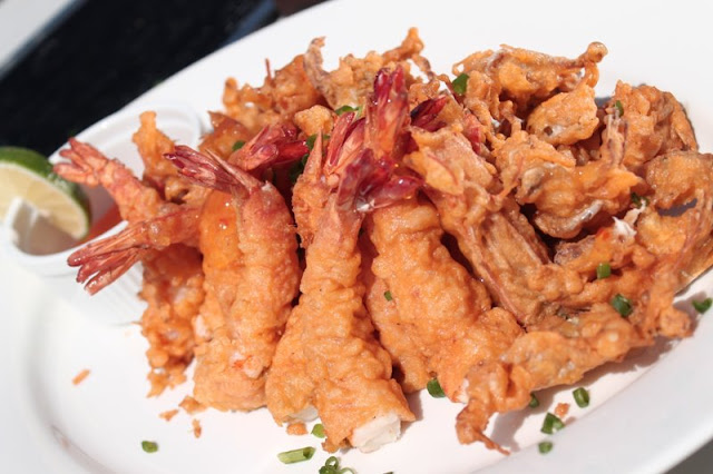 Camaron Rebosado with Crispy Crablets Recipe
