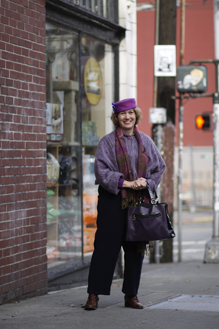 Gretchen Woods millinery seattle street style tacoma