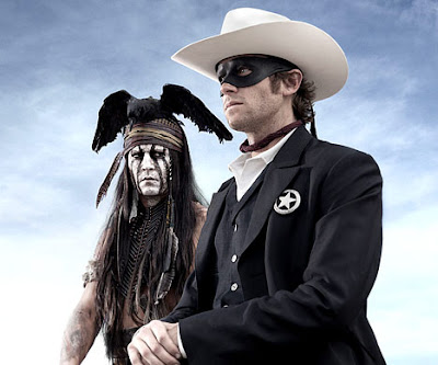 Lone Ranger Johnny Depp