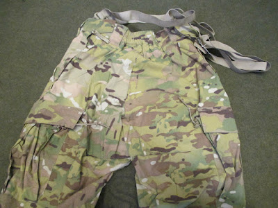 US ARMY MULTICAM COLD WEATHER SOFT SHELL TROUSERS e