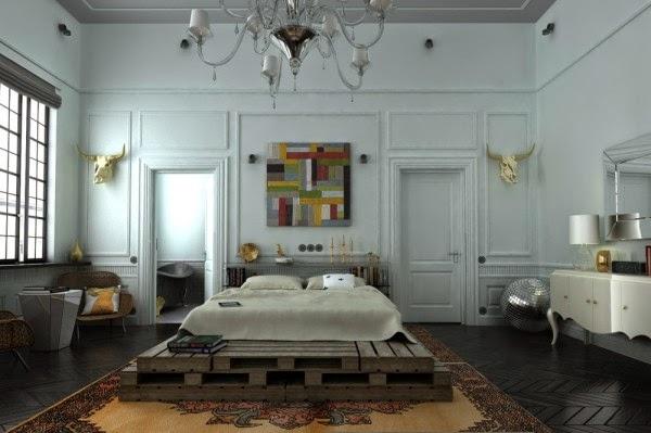 Phòng ngủ như một bảo tàng nghệ thuật đương đại