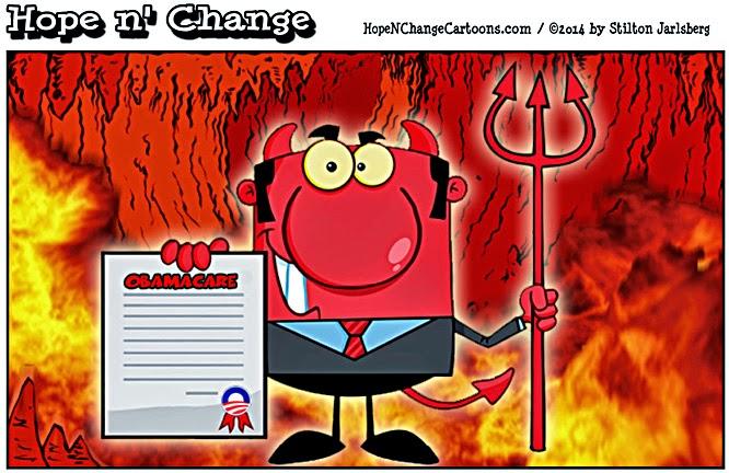obama, obama jokes, political, humor, cartoon, conservative, hope n' change, hope and change, stilton jarlsberg, obamacare, healthcare.gov, subsidy, insurance, redistribution