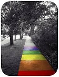 Voy pintando mi camino, por si me confundo puedo volver hacia atrás.