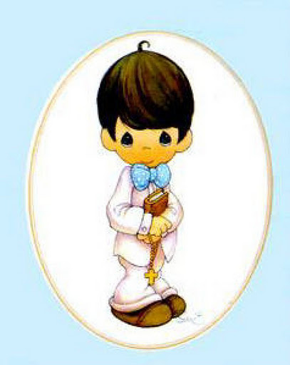 imagenes de ninos de primera comunion en caricatura
