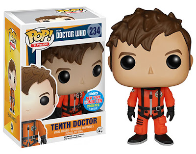 New York Comic Con 2015 Exclusive Doctor Who Tenth Doctor in Spacesuit Pop! Television Vinyl Figure by Funko