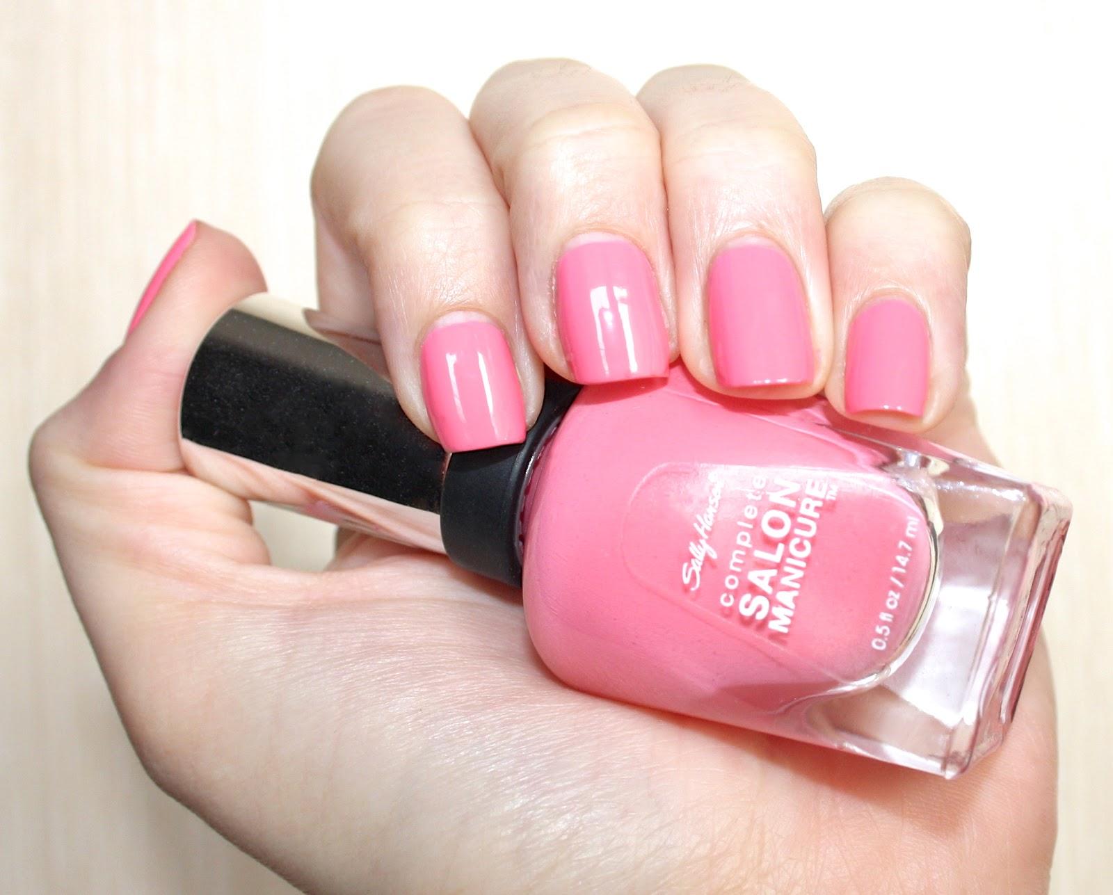 Notd sally hansen complete salon manicure in 510 i pink i for Salon manicure