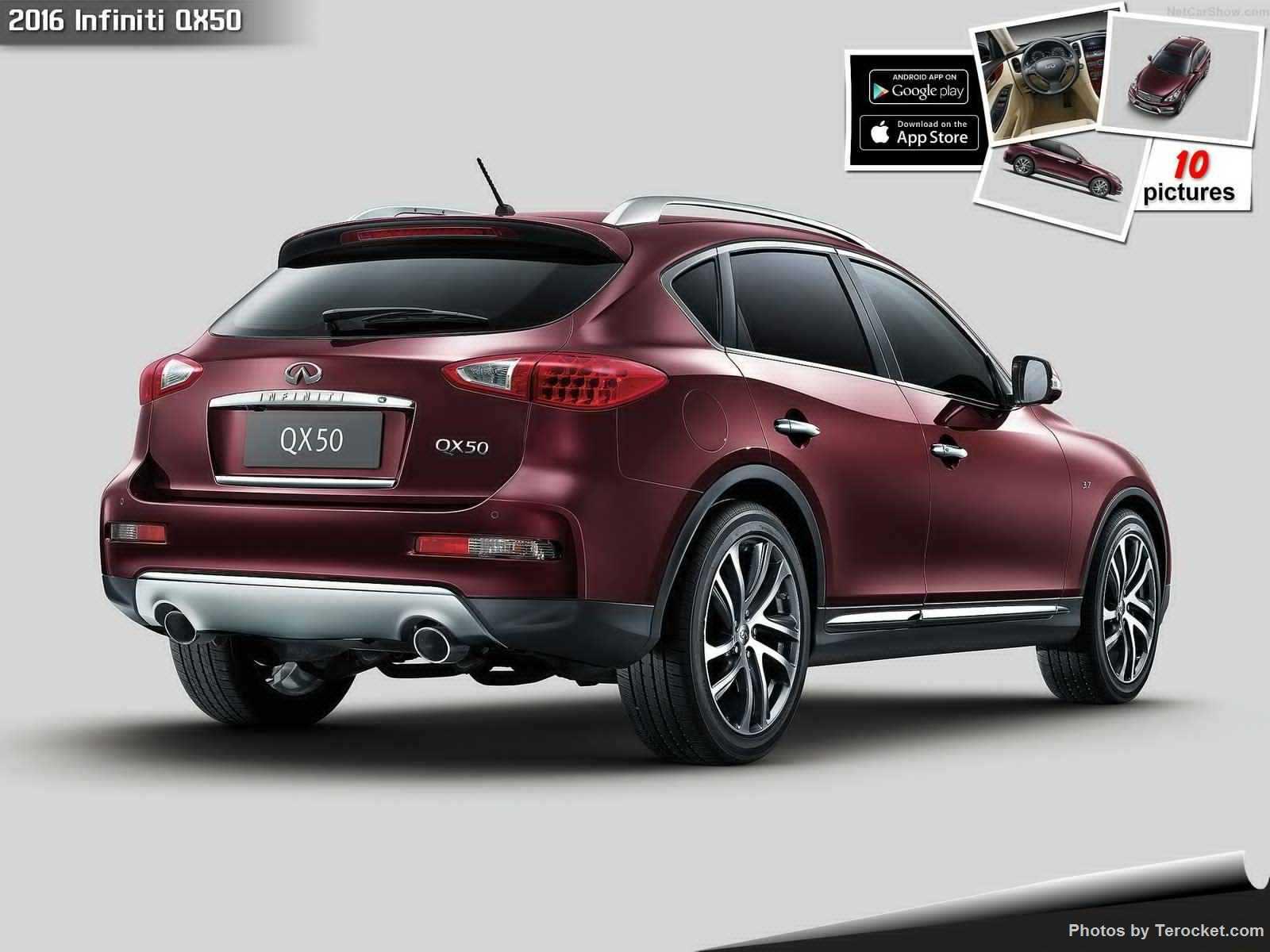 Hình ảnh xe ô tô Infiniti QX50 2016 & nội ngoại thất