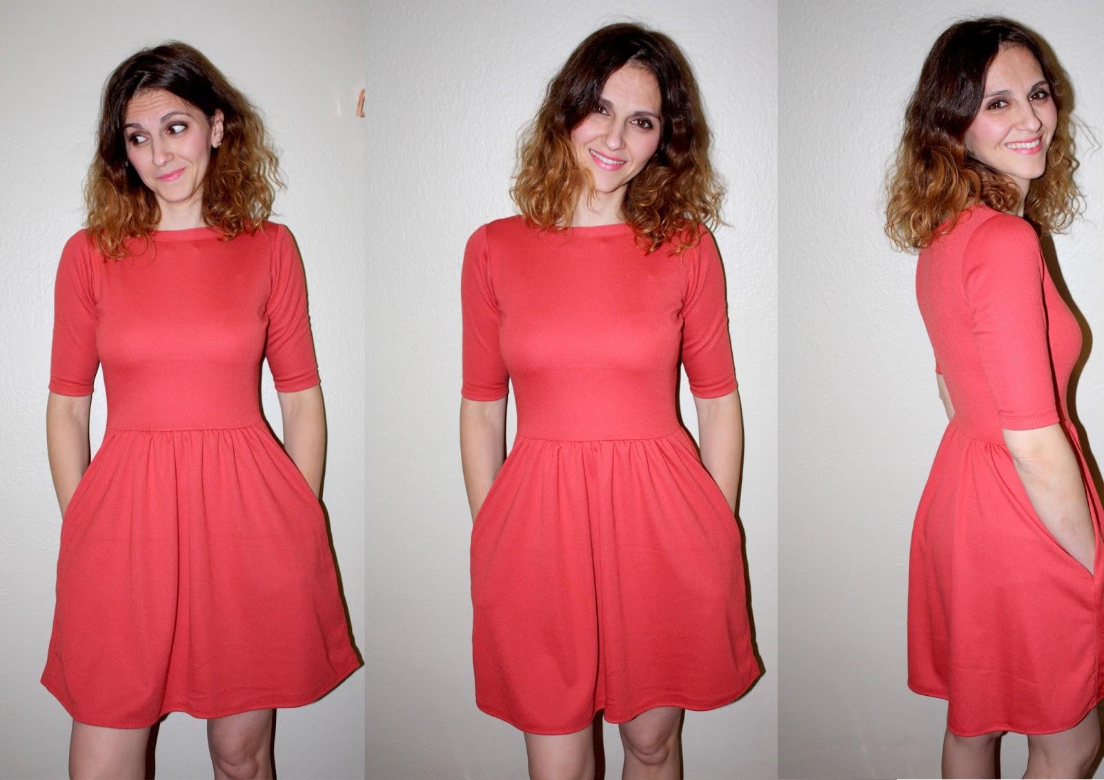 Tela punto roma vestidos