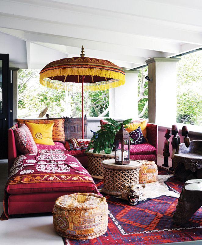 ev dekorasyon hob bohem stili oturma odalar. Black Bedroom Furniture Sets. Home Design Ideas