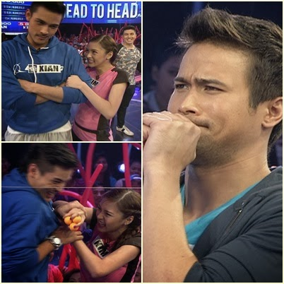 Kim Chiu, Xian Lim and Sam Milby Play in Minute to Win It First Anniversary Week
