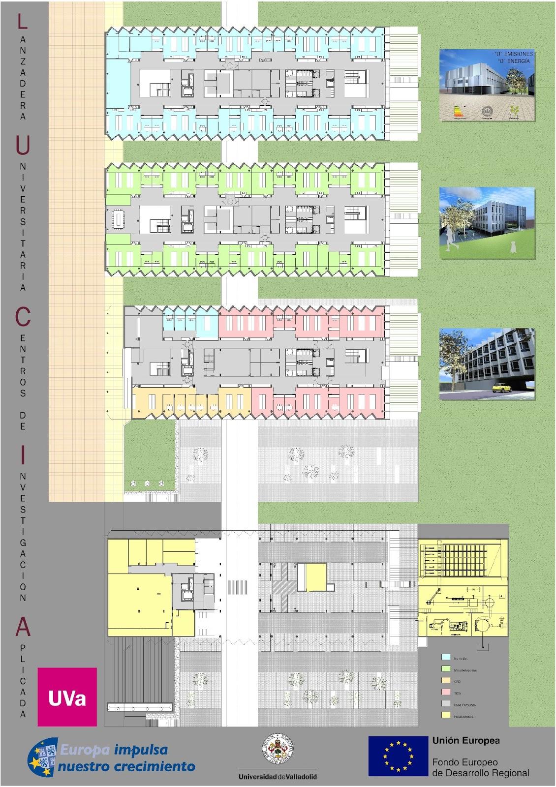 Carteles y folletos edificio lucia universidad de - Universidad arquitectura valladolid ...