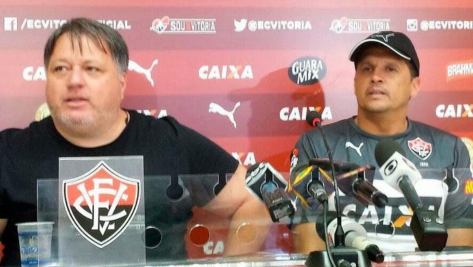 Novo técnico do Vitória, Claudinei Oliveira