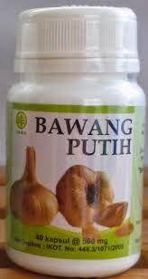 kapsul bawang putih