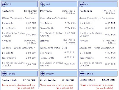 offerte Ryanair