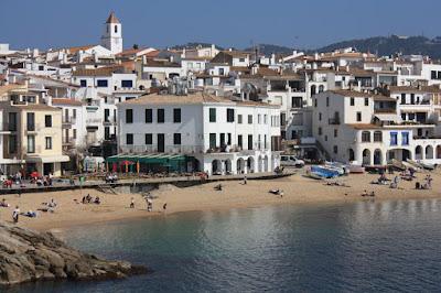 Calella de Palafrugell beach in La Costa Brava