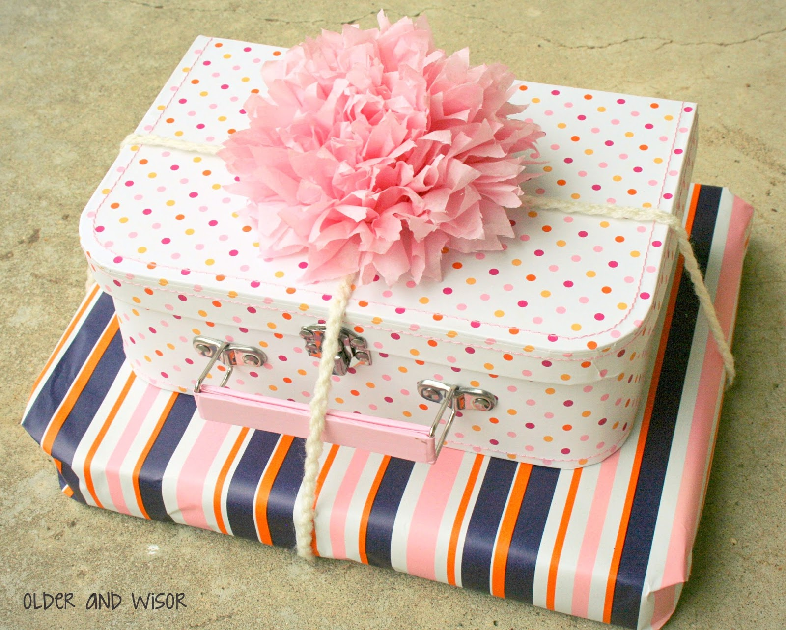 older and wisor t wrapping ideas