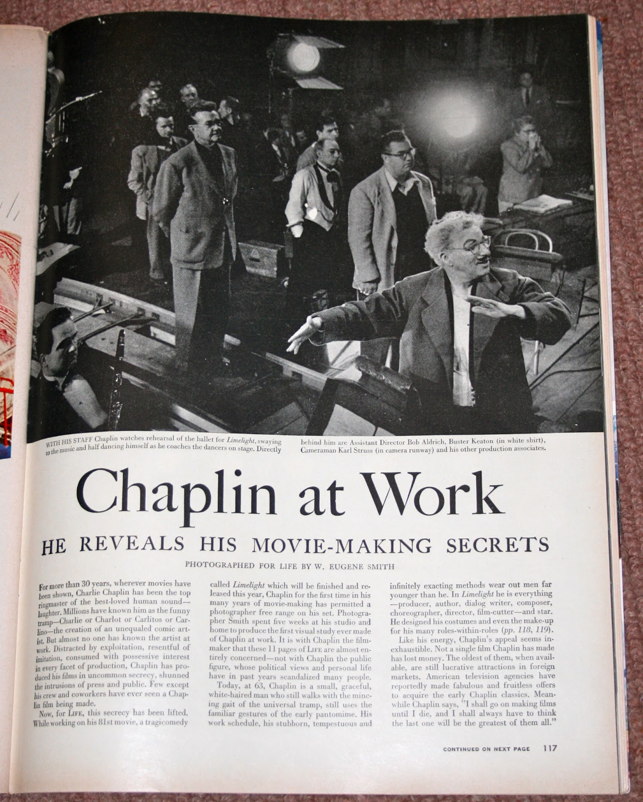 time charlie chaplin how charlie worked his actors on 17 1952 about a month before charlie s 63rd birthday life magazine ran a feature called chaplin at work subhead he reveals his movie making