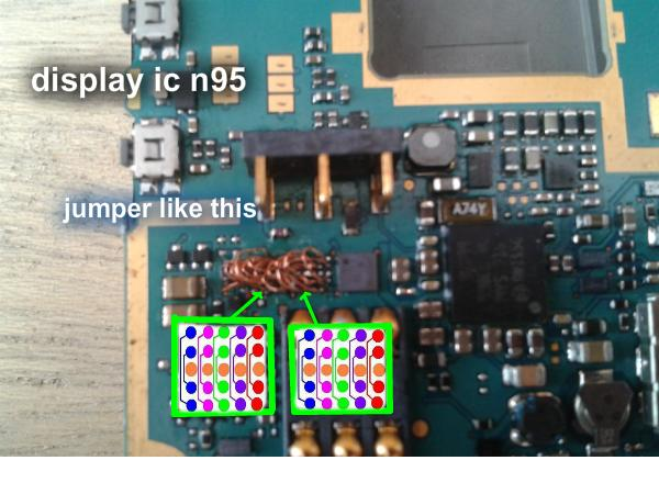 Nokia N95 Display Ic Jumper