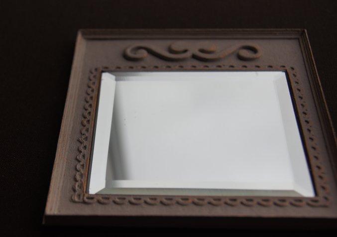 Nono mini nostalgie tutorial un miroir romantique for Decouper un miroir