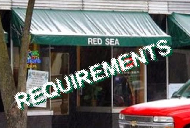 Red Sea Requirements