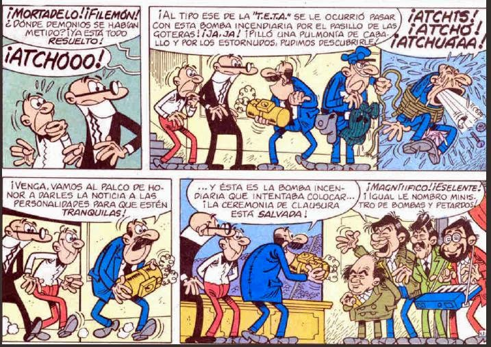 Mortadelo y Filemón Barcelona 92