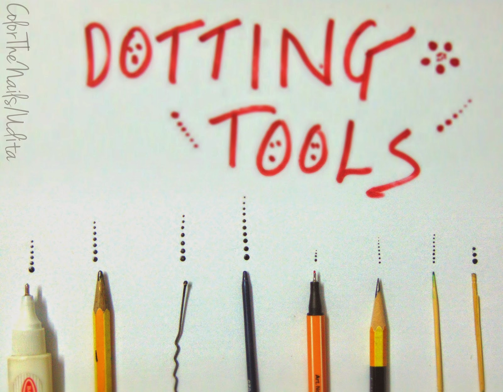 Make Your Own Dotting Tools! | Color The Nails