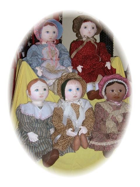 Classic Cloth Dolls