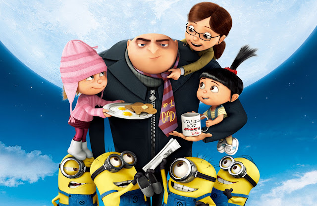 Despicable Me,Despicable Me 2,movies