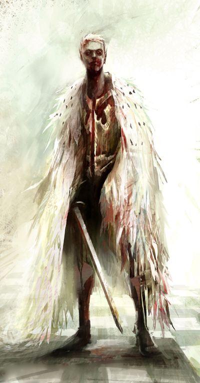 Richard Anderson flaptraps arte conceitual ilustrações pinturas games fantasia ficção científica Anjo caído