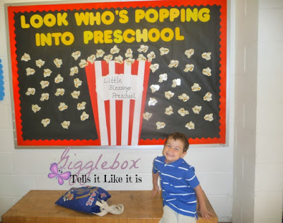 first day of 4 year old preschool at Little Blessings Preschool in Leesburg VA, preschool, children,