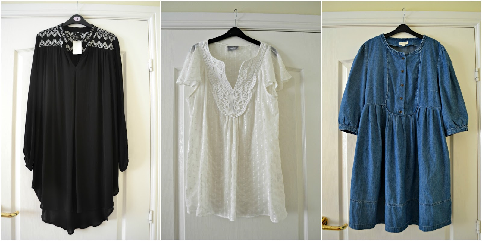 H&M tunic Wallis blouse Monsoon denim smock dress