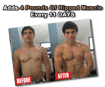 Adds 4 Pounds Of Ripped Muscle Every 11 DAYS Using Your Body Fat As Muscle Fuel!