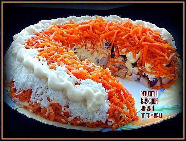 Рецепт приготовления салата из креветок пошаговое фото