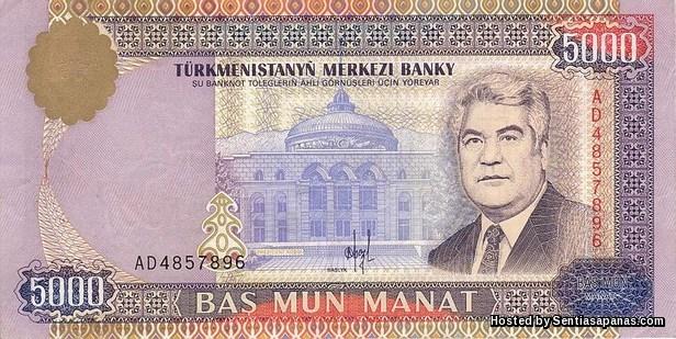 Manat Turkmenistan