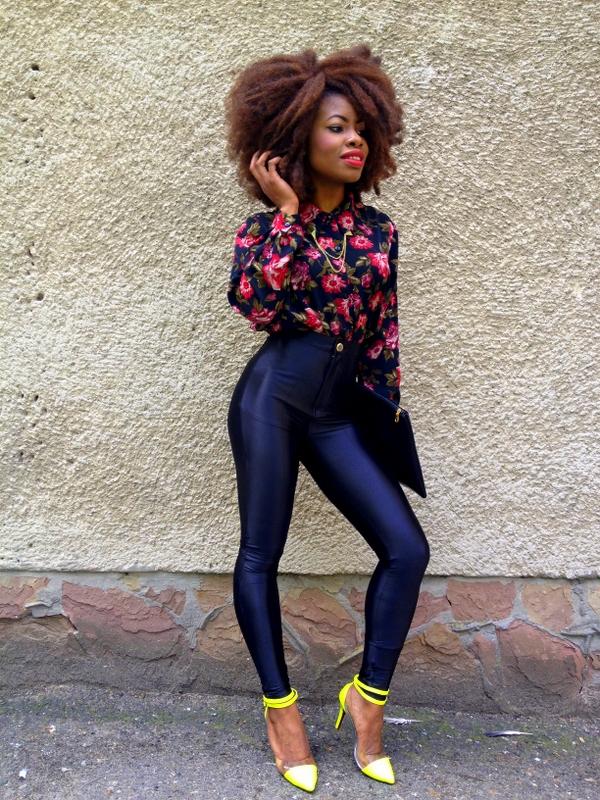 Bucandyu0026#39;s Fashion HIGH WAISTED PANTS + FLORAL