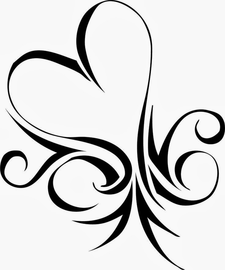 Magic image for printable tattoo stencils