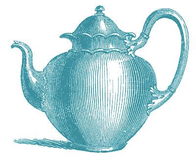 Сток Античный Чайники