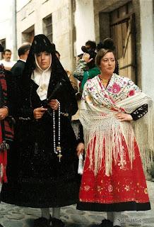 Candelario Salamanca fiesta de trajes 1989