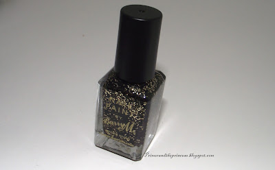 Barry M Nail Polish Review - 355 Gold Mine Glitter