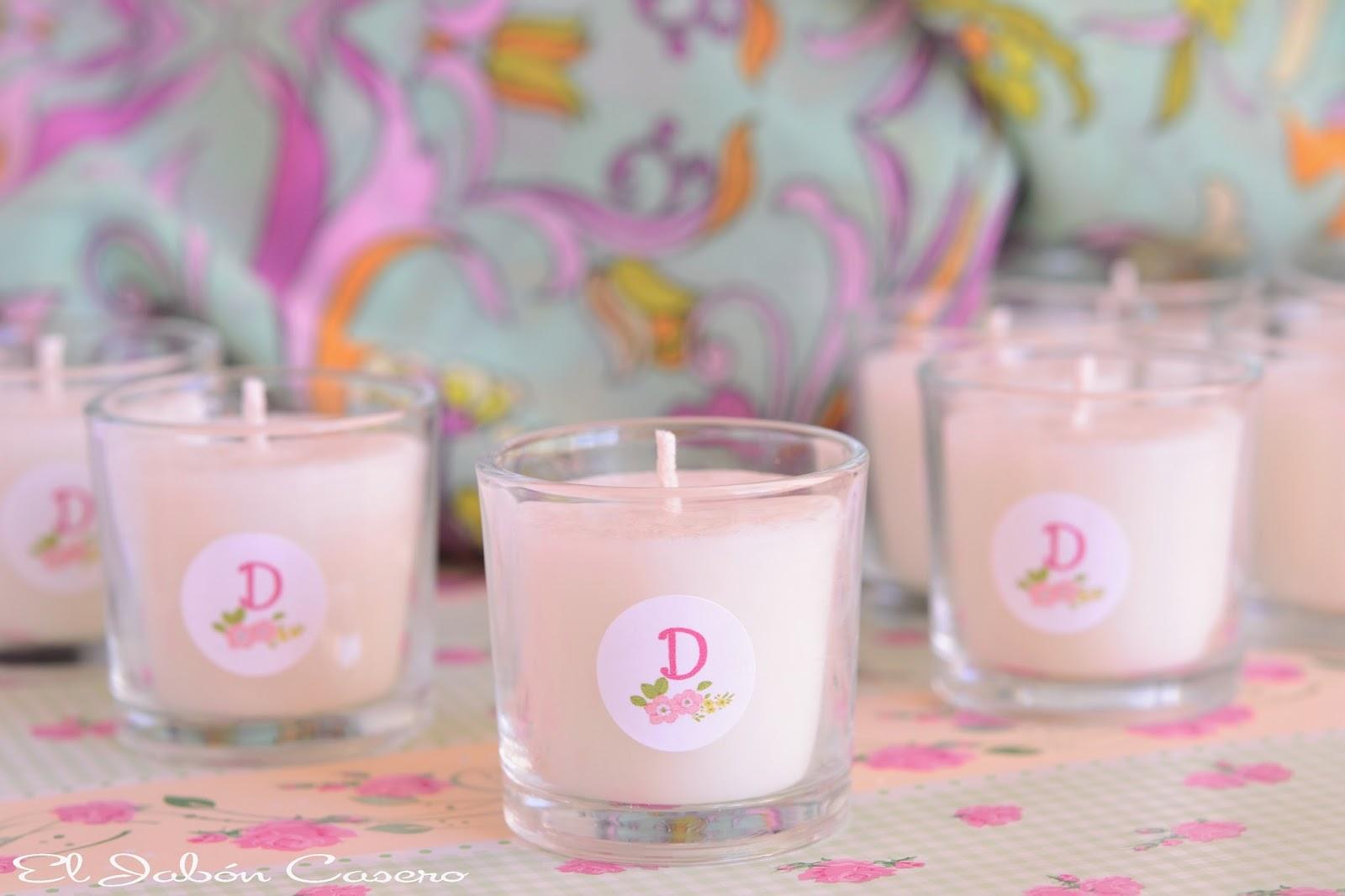 El jab n casero detalles para comuniones de ni as - Etiquetas para velas ...