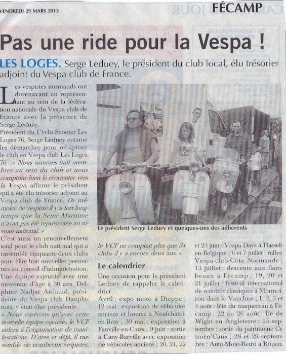 Vespa Club Les Loges