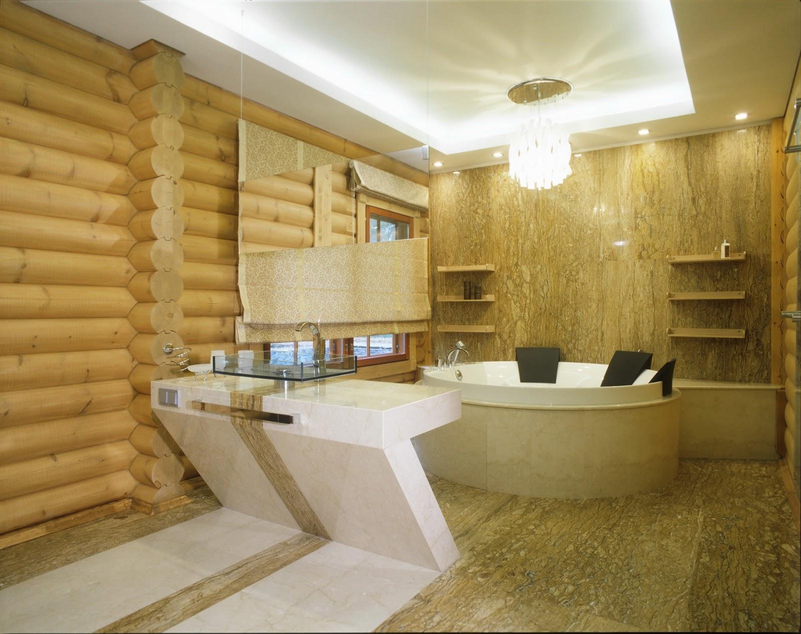 Дизайн частного деревянного дома