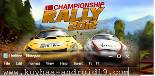 CHAMPIONSHIP RALLY 2012 1.1 APK