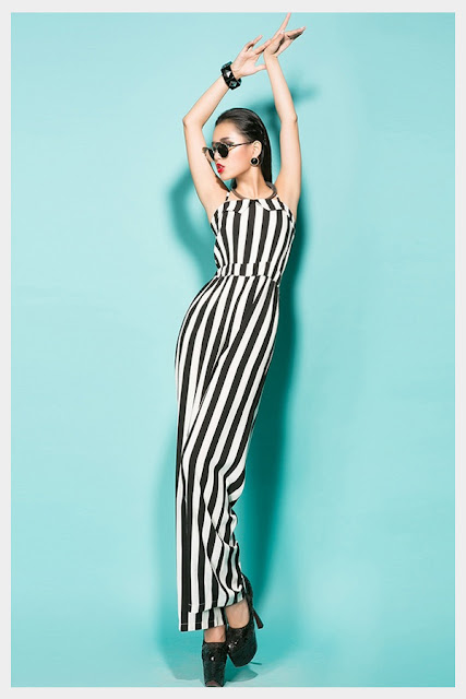 Bold Stripes Jumpsuit