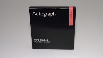 Autograph By M&S Pure Colour Powder Blush Review - Coral