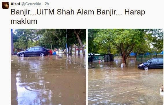 Banjir Di Padang Jawa, Shah Alam (27 Oktober 2014), Video Banjir Padang Jawa, Gambar Banjir Padang Jawa, Padang Jawa Banjir, Shah Alam Banjir