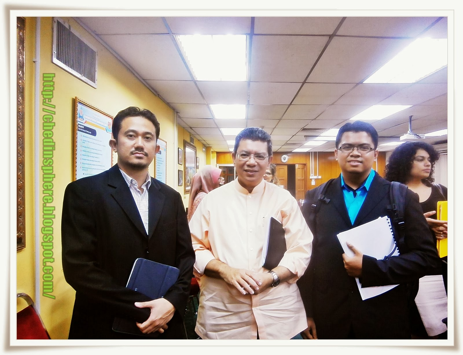 Bersama Dato Saifuddin Abdullah.