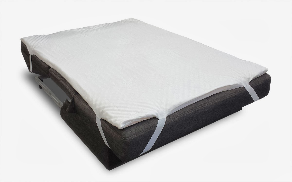 Futonland Sofa Bed Pillow Top Mattress Pad by Comfort Pure : MattressPad1 from blog.futonland.com size 1200 x 750 jpeg 65kB