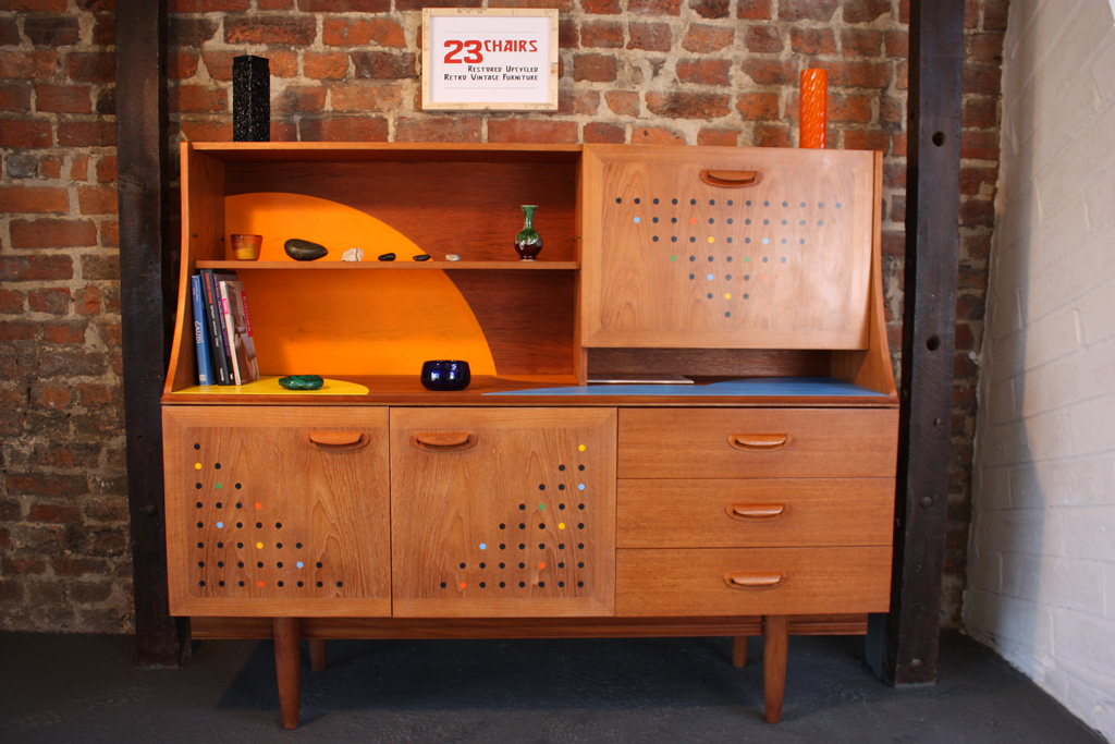 Monkey Wanna Banana Upcycled Sideboard